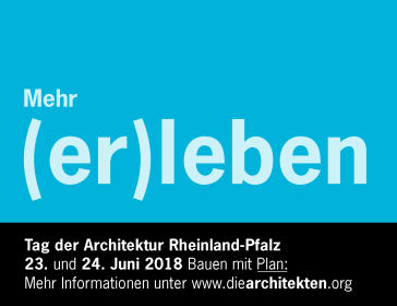 Tag der Architektur 2018